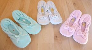 Damen-Ballerina-Hausschuhe-Hausballerinas-Gr-36-37-38-39-40-41-42