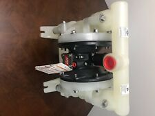New Listingaro 1 Plastic Air Operated Diaphragm Pump 47 Gpm 1 Inch Inletoutlet