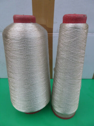 Metalic Embroidery Machine Threads Gold//Silver