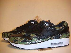 innovative design 8908a c11ff Image is loading NIKE-AIR-MAX-1-ATMOS-TIGER-CAMO-SNAKE-