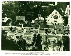 Publicite-ancienne-vue-aerienne-de-l-039-avenue-des-colonies-1931-issue-de-magazine