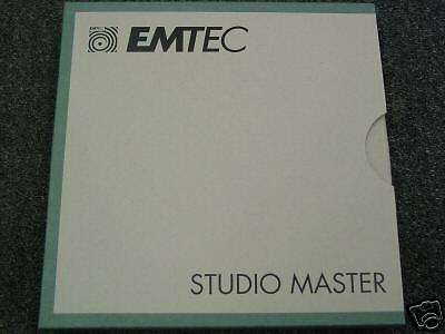 EMTEC REEL  BASF 526 1  REEL TO REEL EMTEC STUDIO MASTER TAPE NEW 4eae29