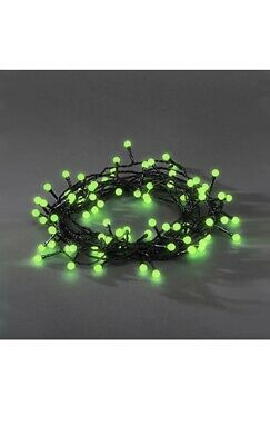 384 LED Indoor Outdoor Green Berry Christmas Lights