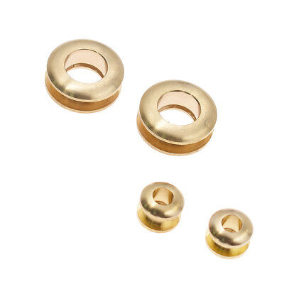 Brass Eyelets Screw Grommets Solid Metal Repair Tools Leather Craft Hardware Set