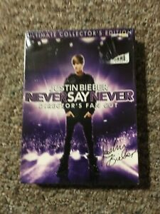 Justin-Bieber-Never-Say-Never-Director-039-s-Fan-Cut-Ultimate-Collector-039-s-Ed-DVD
