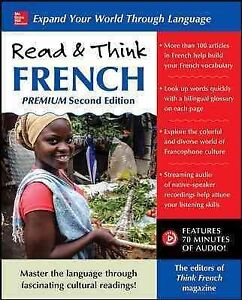 Read-amp-Think-French-Paperback-by-Think-French-Magazine-EDT-Brand-New-Fre