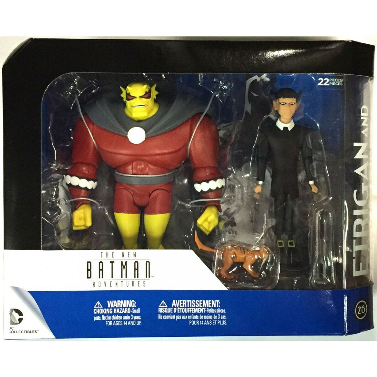 DC Comics Batman The Animated Series Series Series ETRIGAN & CLARION 2 Action Figures n.26 426af1