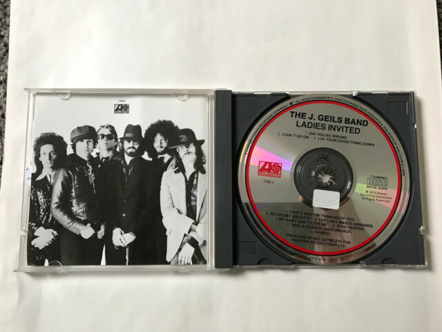 CD   The J. Geils Band - Ladies Invited  NEUWERTIG