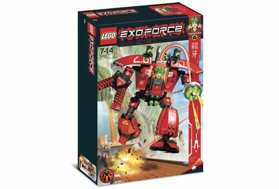 NEW NEW NEW Lego Exo-Force 7701 Grand Titan New SEALED 7d546a