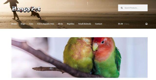 Amazon Affiliate Pet Supplies Store Website Business ecommerce Free SSL