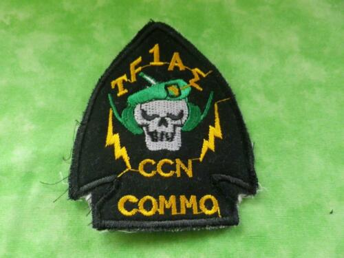 """VIETNAM B2 US ARMY  SPECIAL FORCES TF1AE CCN COMMO /""""GREEN BERETS/""""  PATCH"""