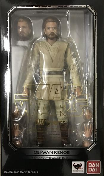 Star Wars Bandai SH Figuarts Episode II Obi-Wan Action Figure