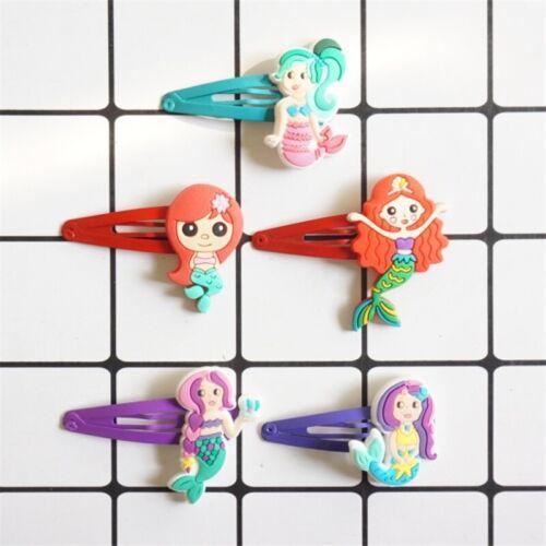 Cute Kids Girl Hairpins Cartoon Hairclips Child Barrette Hair Band Accessories