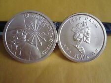 Debt and Death 2012 1 oz .999 fine silver King Strike Half Proof  + slave queen