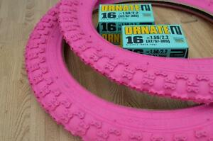 """New PINK Kids Bicycle Tires and Tubes 20x2.125 Fits 1.75 1.95 BMX 20/"""" Girls BIKE"""
