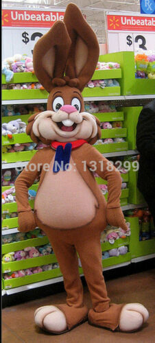 2020 rabbit Mascot Costume Suits Cosplay Party Game Dress Outfits Clothing Ad