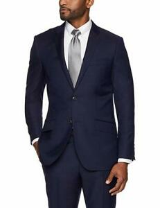 BUTTONED DOWN Mens Classic Fit Super 110 Italian Wool Suit Jacket Brand