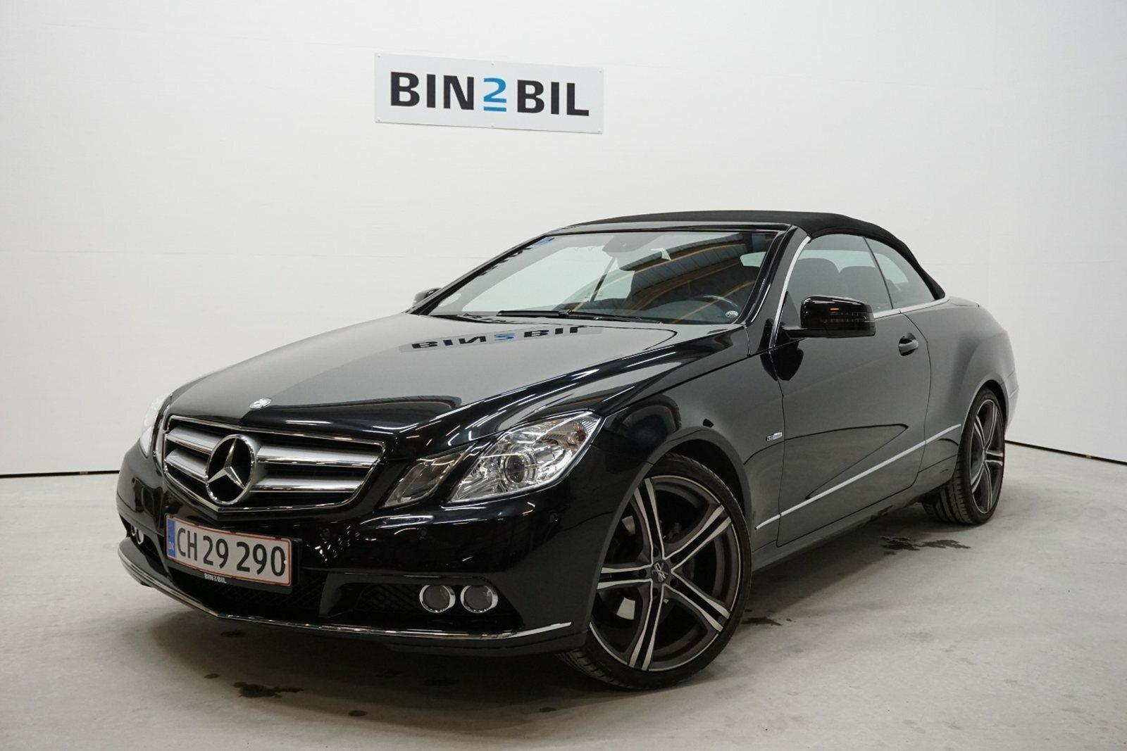 Mercedes E200 1,8 CGi Cabriolet aut. BE 2d - 377.777 kr.