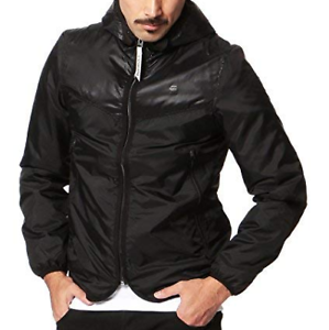 G-Star-Setscale-Hooded-Overshirt-Jacke-Schwarz-Herren-Groesse-UK-S-ref155