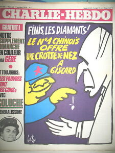 CHARLIE-HEBDO-N-466-GISCARD-GeBe-CABU-LES-PAUVRES-SONT-DES-CONS-COLUCHE-1980