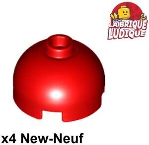 Lego 4x brique ronde brick round dome 2x2 vert citron//lime 553c NEUF