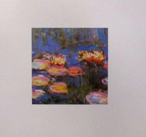 """Claude MONET /""""WATER LILLIES Detail II 1916/"""" Offset Lithograph"""