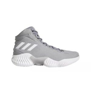 c04ef841d Image is loading Adidas-Pro-Bounce-2018-Basketball-Shoe-Gray-Men-