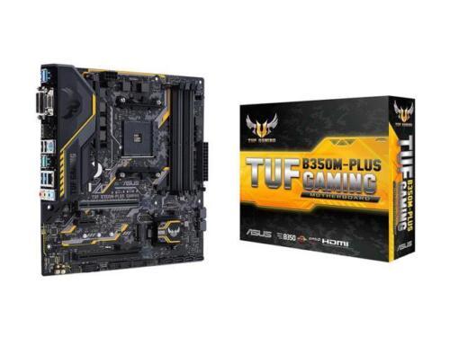 ASUS TUF B350M-PLUS GAMING AM4 AMD B350 SATA 6Gb//s USB 3.1 HDMI Micro ATX AMD Mo
