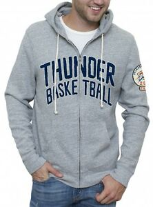 Oklahoma-City-Thunder-NBA-Half-Time-Full-Zip-Hoodie-by-Junk-Food