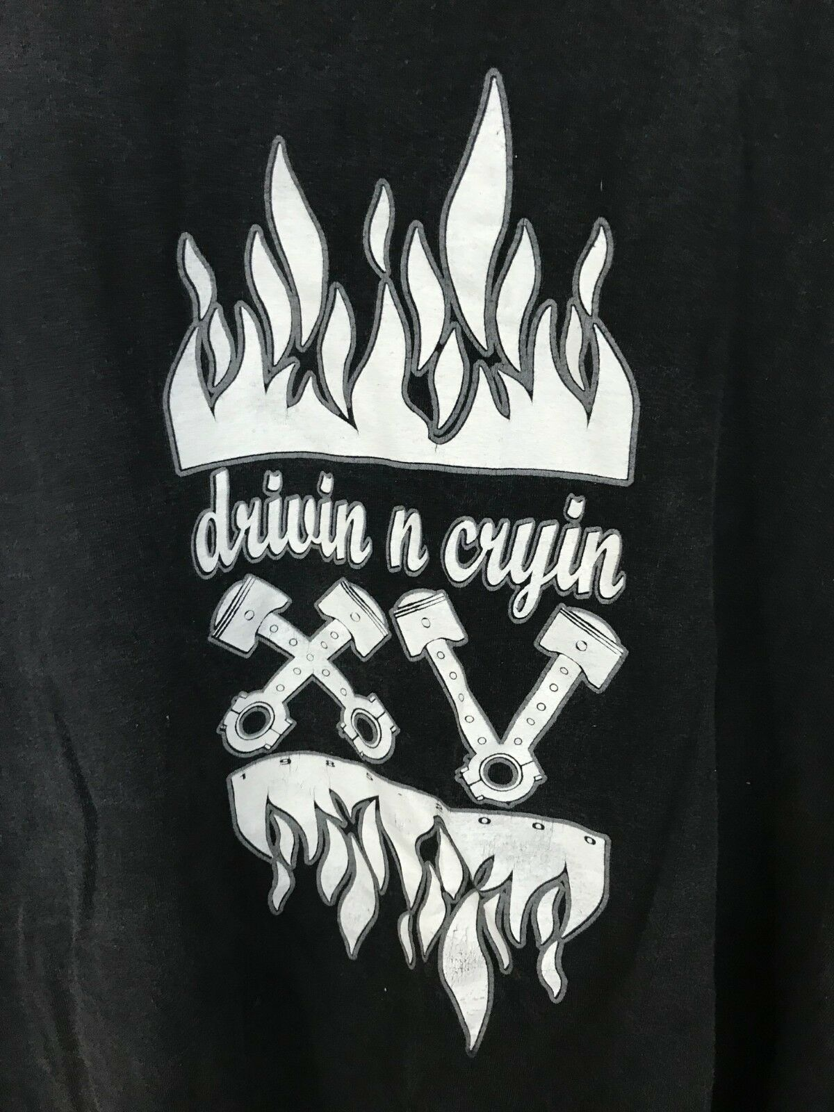 VTG Drivin N Cryin 15TH 1985-2000 15TH Cryin Anniversary Tour Long Sleeve Shirt Size L c352f3