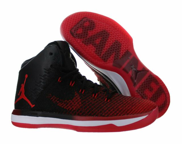 buy online 469fb dea0e Mens Nike Air Jordan XXXI Sneakers New, Black / Red BANNED 845037-001 new  in box