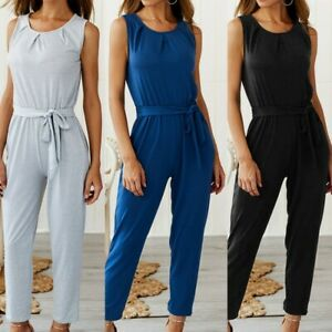 UK-Boho-Womens-Off-Shoulder-Pocket-Long-Playsuit-Ladies-Summer-Jumpsuit-Trousers