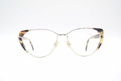 Aggressivo Vintage Papi 7 53 [] 17 125 Oro Marrone Ovale Occhiali Eyeglasses Nos-mostra Il Titolo Originale