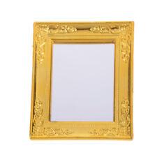 1:12 DOLLHOSPE Mini Furniture European Frame Mirror Model Vintage/_v