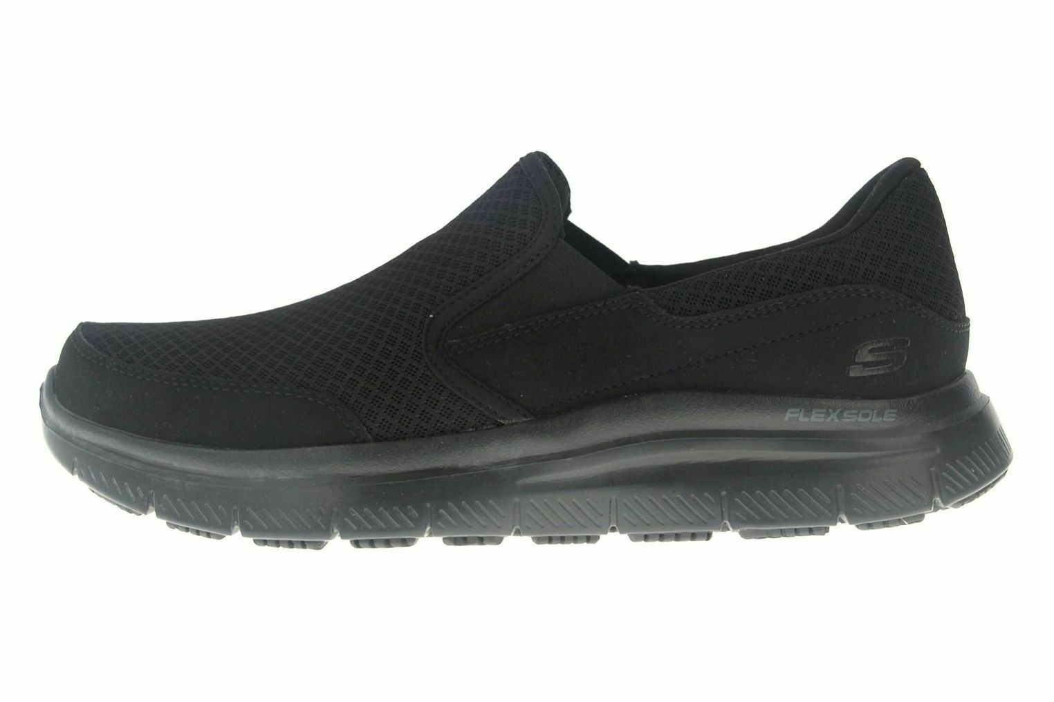 Skechers FLEX ADVANTAGE SR MCALLEN Sneakers in Übergrößen black 77048EC BBK gr