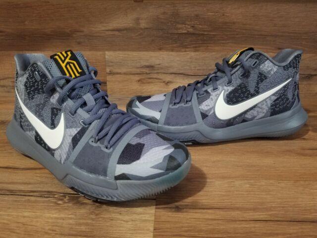 first rate 4a22c c1567 Nike Kyrie 3 Mens Basketball Shoes Girls EYBL Rare Sample Grey SZ 7  942206-002