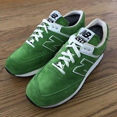 New Balance M576 Green Suede Vintage