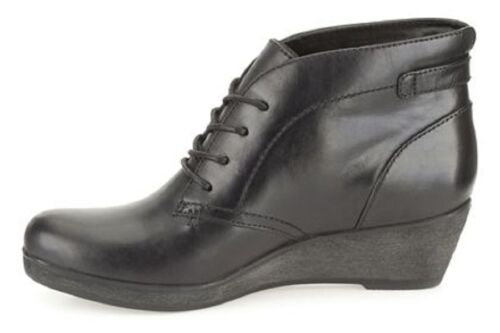 Black Leather Emmi Women Salg Clarks 5 4 New Nataline Uk Støvler Casual IWTqIptSxn