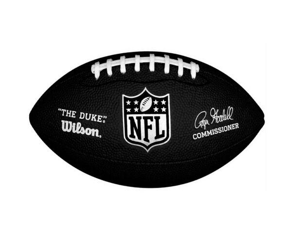 Wilson NFL DUKE Mini Mini Mini Noir football américain 247354