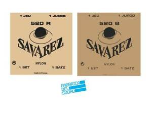 SAVAREZ-CORDIERA-CHITARRA-CLASSICA-Carte-rouge-520-R-carte-Blache-520-B