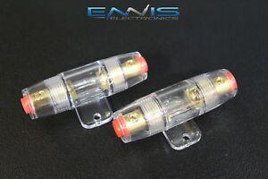 20 AMP FUSES AFC MIDI FUSES HIGH 4 6 8 10 GAUGE MINI ANL FUSE HOLDER 5 W 1