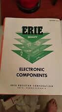 """Original Erie Electronic Component Catalog From 1950""""s"""