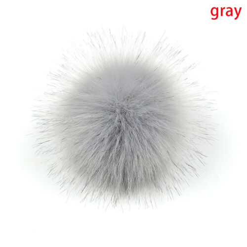 15cm Big Raccoon ball Keyring Ball Pom Charm Bag Clothes Ball  OJ