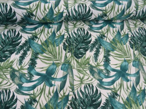 Designer /'Classique/' Mandala /& Flowers Cotton Canvas Curtain Fabric Upholstery