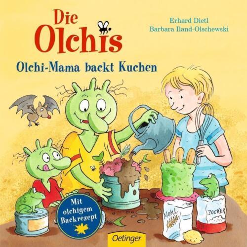 1 von 1 - Die Olchis. Olchi-Mama backt Kuchen von Dietl, Erhard