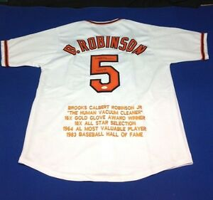 Brooks Robinson Signed Baltimore Orioles Jersey - JSA # W695871