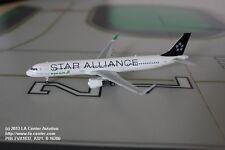 Phoenix Models Eva Air Airbus A321 in Star Alliance Color Model 1:400