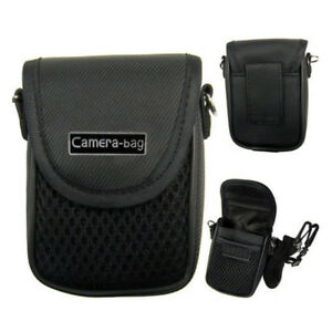 Compact-Camera-Case-Universal-Soft-Bag-Pouch-Strap-Black-3size-CPEV