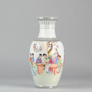 1950-1960-Jingdezhen-PRoC-vase-with-ladies-decoration