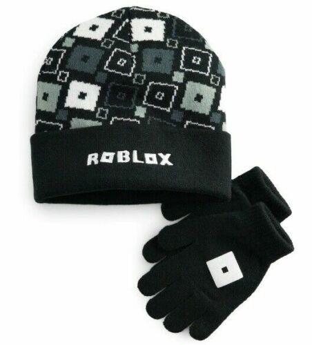 NWT UNISEX Licensed ROBLOX Logo Winter Beanie Hat /& Gloves Set